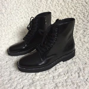 NWOT Urban Outfitters Jade Combat Boot, Black 6